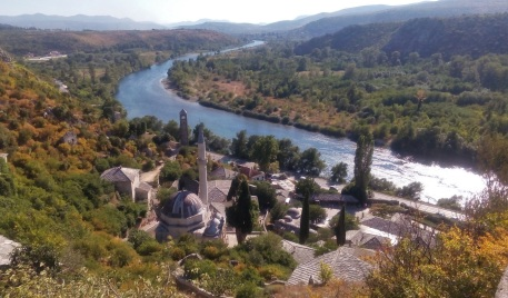 Pemandangan dari atas fortress