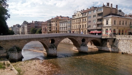 Latin Bridge. World War 1 started here.